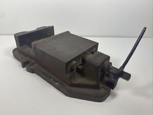Large Brown Sharpe Mill Vise No 23 W charles Parker Wrench