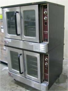 Southbend Natural Gas Double Stack Deck Convection Oven Slgs 22sc