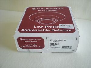 Fire lite Alarms By Honeywell Low Profile Addressable Detector White Sd365