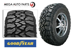 1 Goodyear Fierce Attitude M t Lt275 70r18 125p 10e All terrain Truck Mud Tires