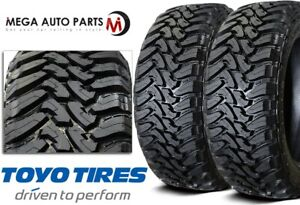 2 Toyo Open Country M t 38x13 50r20 125q 8 ply Off road Truck suv cuv Mud Tires