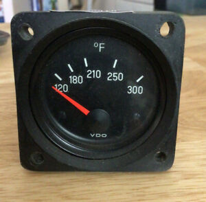 Vdo Oil Temp Gauge 300f 310 P12