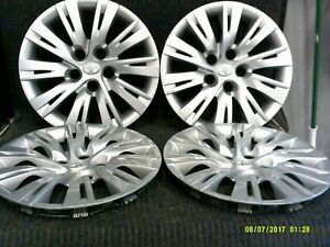 Set Of 4 Factory Toyota Camry Hubcaps Wheel Covers 2012 2013 2014 16 61163 1