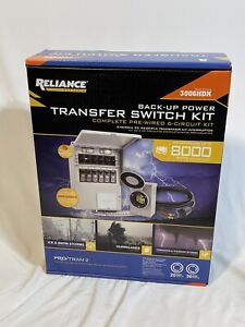3006 hdk Reliance Controls 6 Circuit Back Up Power Transfer Switch Kit Pro Tran