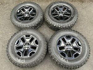 17 Jeep Wrangler Unlimited Rubicon Factory Oem Wheels Tires 2013 2018 9118 1