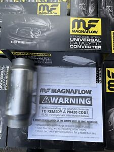 3 Magnaflow 54959 High Flow Performance Catalytic Converter Cat New 2021 Batch