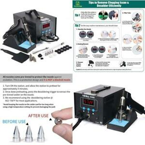 Yihua 948 Desoldering Station 80w With Auto Shutoff Variable Precise Temperat