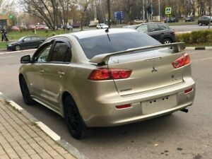 Mitsubishi Lancer X 2007 2017 Factory Spoiler Trunk Rear Wing Abs Unpainted