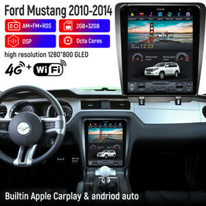 Car Gps Radio Navigation Android 9 0 Vertical Screen Wifi For Ford Mustang 09 14