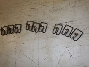 Willys Wagon Pickup Truck Moulding Chrome Strip Clips Oem Original