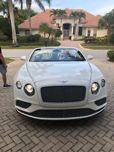Bentley Gtc Continental Brand New Condition Front Grills 2017