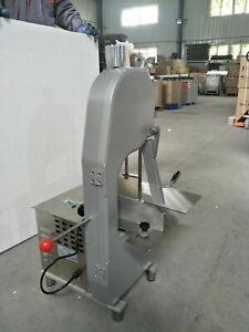 110v Commercial Bone Cutting Saw Electric Band Meat Cutter Kitchen Food Service