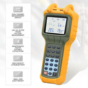 Ry s110 Catv Cable Tv Handle Signal Level Meter Db Tester 47 870mhz 20 50 Db