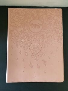 Passion Planner Organizer Cover Salmon pink 8 1 2 X 11 1 2