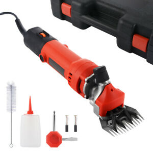 350w Electric Sheep Shears Pro 6 speed Clippers For Farm Livestock Goats Alpaca