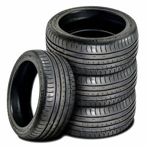 4 New Accelera Phi 255 30zr21 255 30r21 95w Xl A s High Performance Tires
