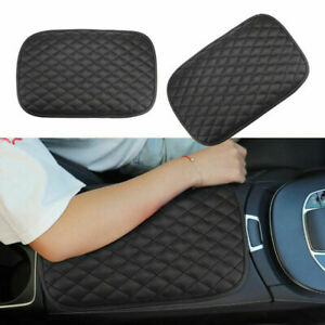 2 Pack Universal Car Armrest Pad Mat Cover Center Console Box Cushion Protector