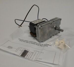 Accuturn Brake Lathe Feed Motor 1 60 Hp 6 Rpm 120 Volt 433641 New