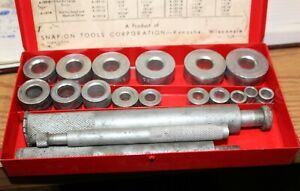 Snap On Blue Point A 157a Bushing Driver Set