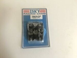 Isky Engine Push Rod Guide Plate 200agp Adjustable 5 16 For Chevy 265 400 Sbc