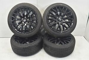2017 Ford Mustang Gt Oem Factory Wheel Set With Tires Assembly 17
