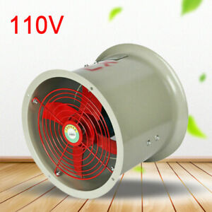Cbf 300 Tube Axial Duct Fan Explosion Proof Direct Drive 180w 110v 2280m3 h 62db