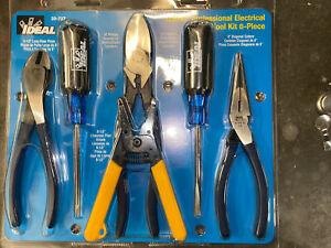 ideal Professional Must Have Electrical Tool Kit Six Piece