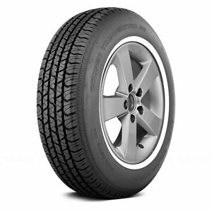 Cooper Set Of 4 Tires P215 75r15 S Trendsetter Se W White Wall Fuel Efficient