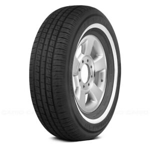 Ironman Set Of 4 Tires 225 70r15 S Rb 12 Nws W White Wall Fuel Efficient