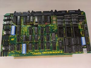 Compupro Interfacer 4 S 100 Board Computer Godbout 1982 Free Shipping