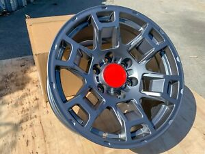 17x9 12 6x139 7 Gray Gunmetal Fit Toyota 4runner Tacoma Off road Tundra Lifted