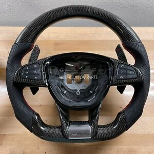 2015 18 Mercedes W205 C Class Glc Gla Cla Amg Carbon Steering Wheel