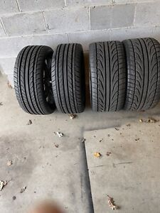Set Of 4 Rims 20 Rims And Tires