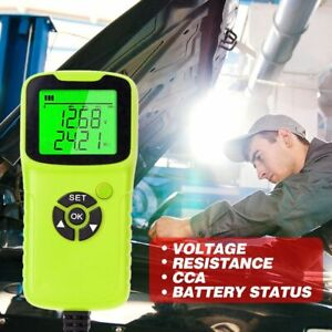 12v Car Motorcycle Battery Tester Battery System Analyzer Charging Test Tools
