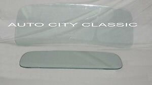 Ford Pickup Truck Glass 1948 1949 1950 Windshield And Rear Back Clear Gaskets