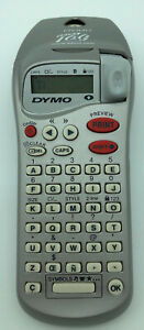 Dymo Esselte Letratag Silver Handheld Label Maker Portable read 2001 Battery