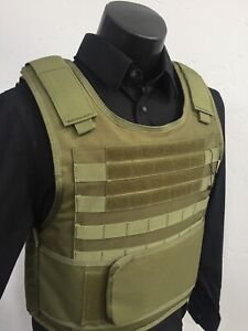 Concealable Bulletproof Vest Carrier BODY Armor Made With Kevlar 3a Xl M 2xl 3xl $229.00