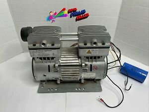 Ultra Quiet Oil free 1 0 Hp Air Compressor Motor Mp 100lf Used