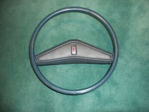 Oldsmobile Steering Wheel With Horn Pad Blue Olds