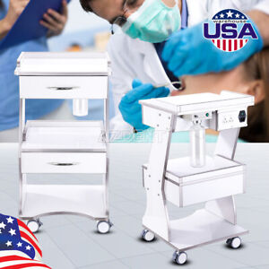 Dental Mobile Instrument Tool Cart Three Layers With Auto water Supply System