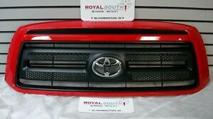 Toyota Tundra Rock Warrior Painted Radiant Red 3l5 Grille Genuine Oe Oem