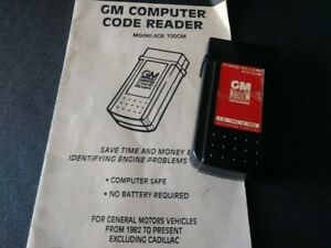 Gm Code Reader Obd I 1982 To 1995 Ex Cadillac With Manual Car Computer