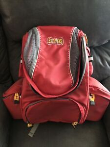 Statpacks Clinician Backpack Bag Great For Ems Emt First aid Red Cross