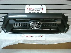 Toyota Tacoma 2012 2015 Sport Magnetic Gray 1g3 Painted Grille Genuine Oem Oe