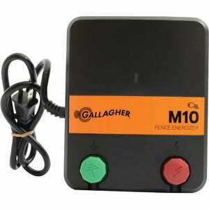 Gallagher M10 10 acre Electric Fence Charger G331424 1 Each