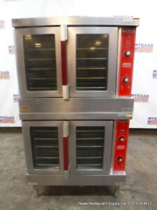 Vulcan Vc4gd 64 Gas Double Stack Full Size Convection Oven