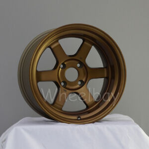 1 Pc Only Rota Wheel Grid V 16x9 4x114 3 Offset 0 73 Frsb Color May Varies