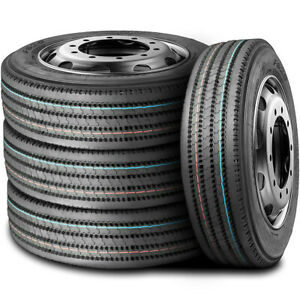 4 Tires Leao F820 255 70r22 5 Load H 16 Ply All Position Commercial