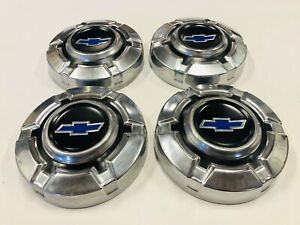 4 1969 1972 Chevy C10 1 2 Ton Truck 10 5 Dog Dish Hubcaps 69 70 71 72