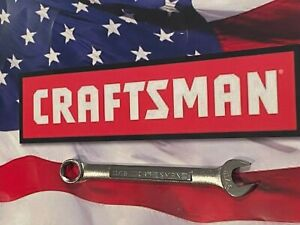 Craftsman Sae Metric Combination Wrench Usa Nos 6 Pt New